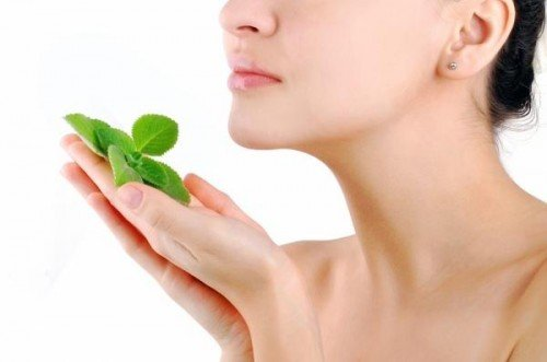 Mint leaves - freshness for skin