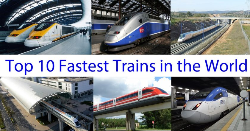 Top 10 world fastest trains