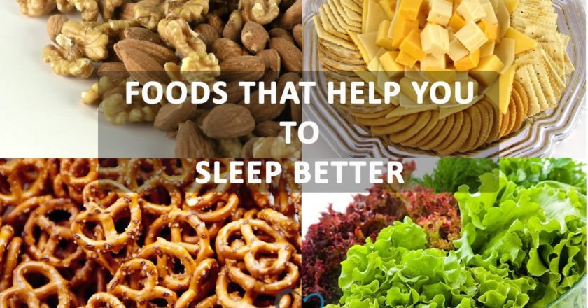 Foods that help in sleep better