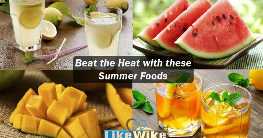 Beat the heat with these summer food